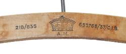 RAF coat-hanger dated 1937