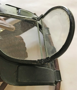 RAF Battle of Britain Mk IV flying goggles with screen