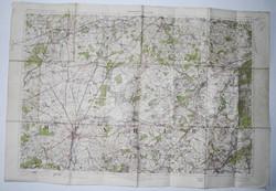 RARE RFC - RAE Pre-WWI flight chart