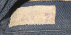 RAF other ranks sidecap dated 1942