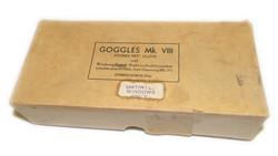 RAF Mk VIII goggles with box (2)
