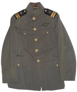 WWI USN aviator cap and tunic