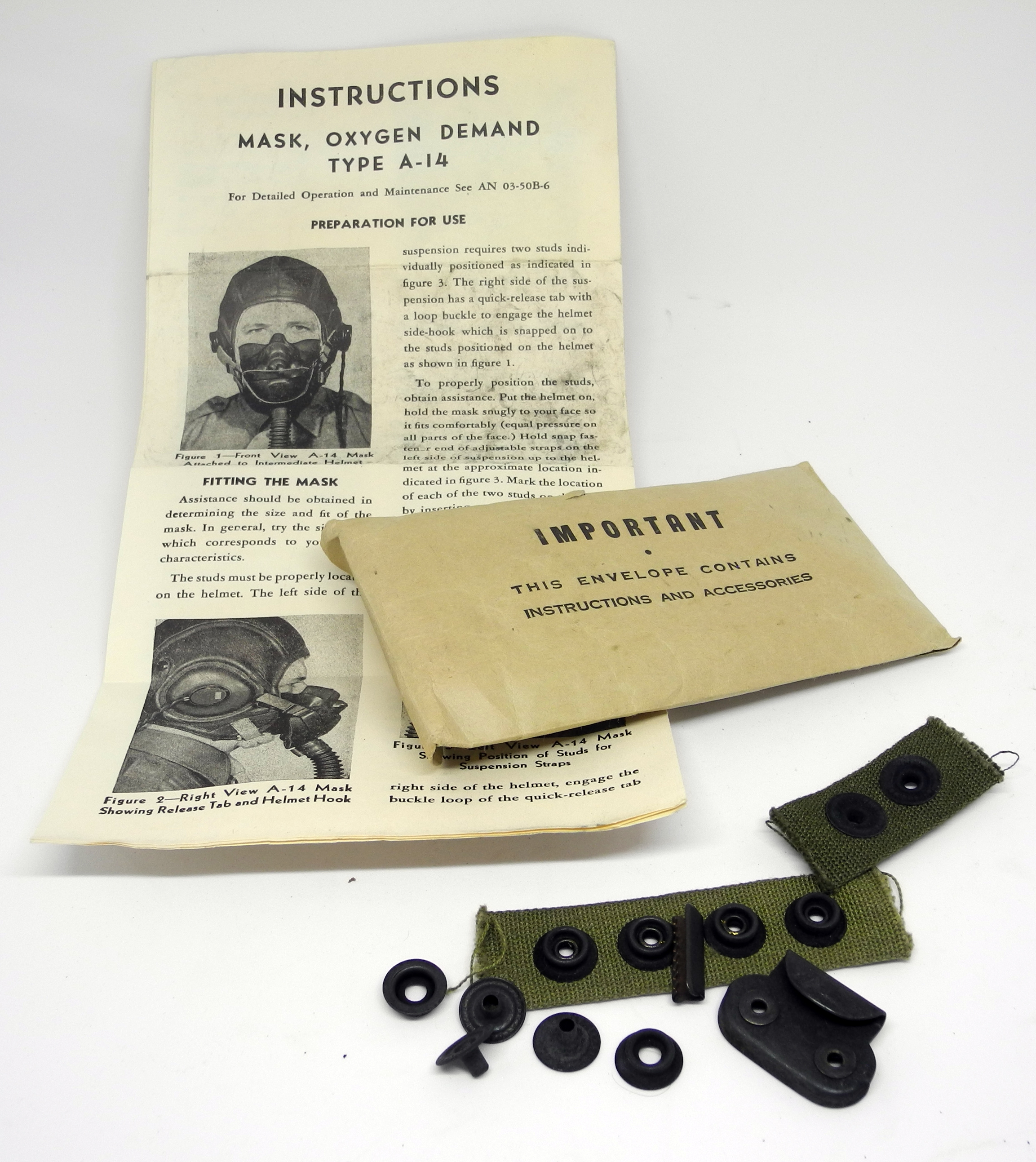 AAF A-14 mask boxed