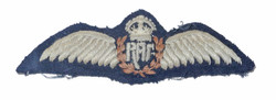 RAF pilot wing, mid-east made