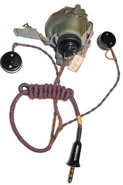 RAF G mask + external wiring loom