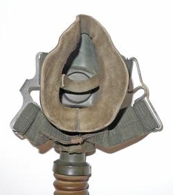 "Luftwaffe Model 10-6701 double strap ""fighter pilot's"" oxygen mask in green rubber"