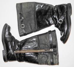 Luftwaffe single-zip Flying Boots
