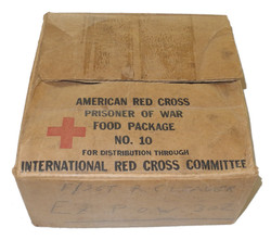 Red Cross box with history