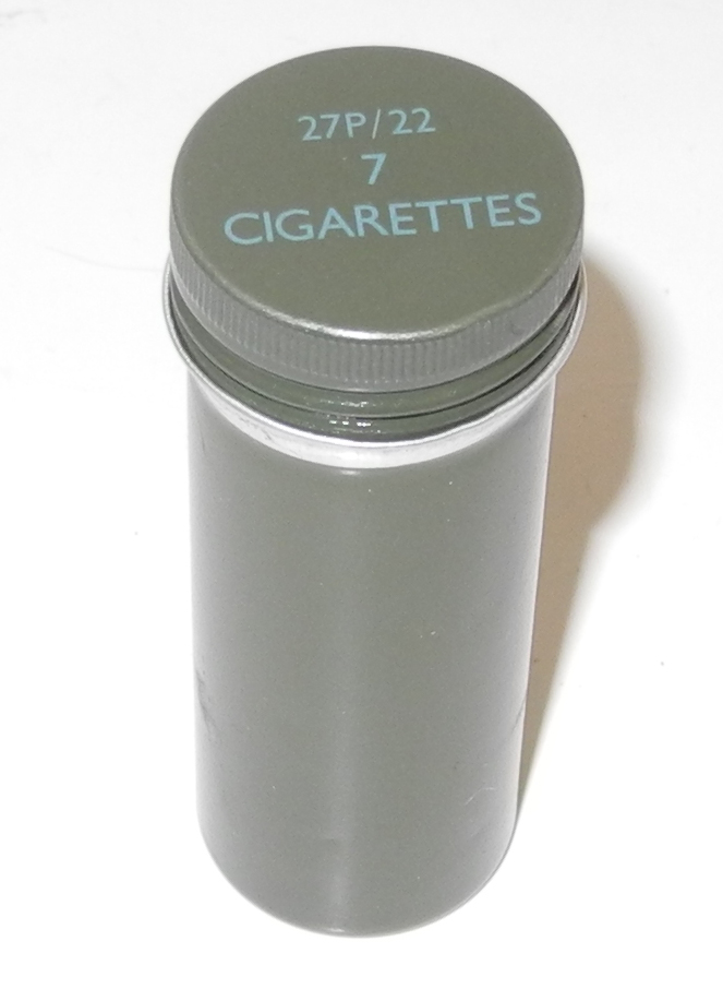 RAF Beado Suit container for 7 cigarettes