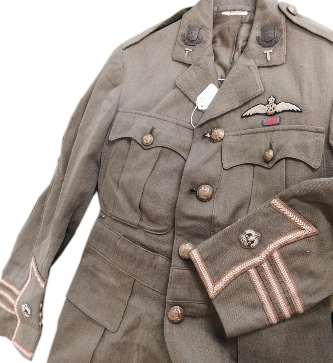 WWI tunic Landon DSO RFC