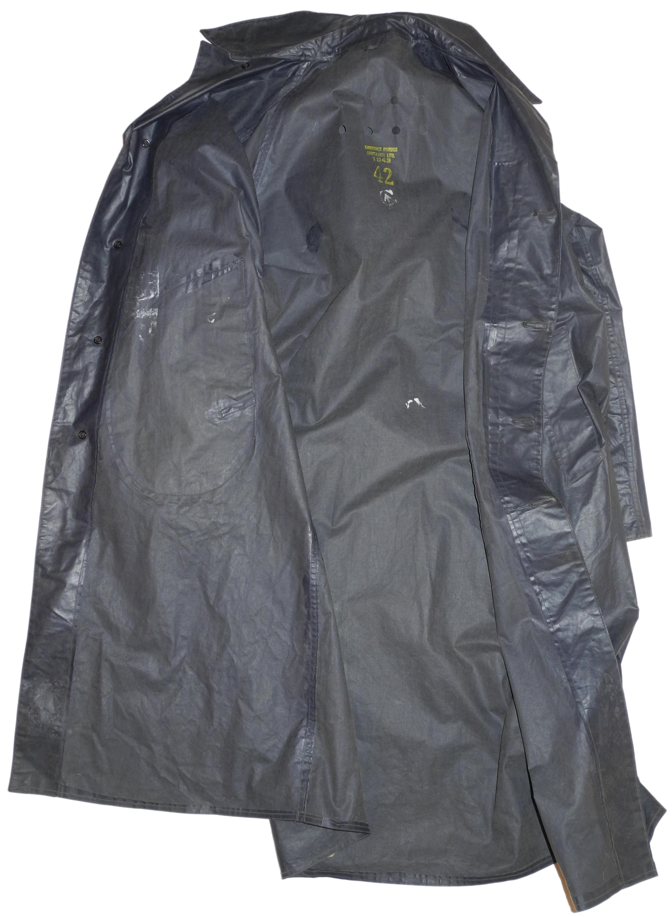 RCAF raincoat