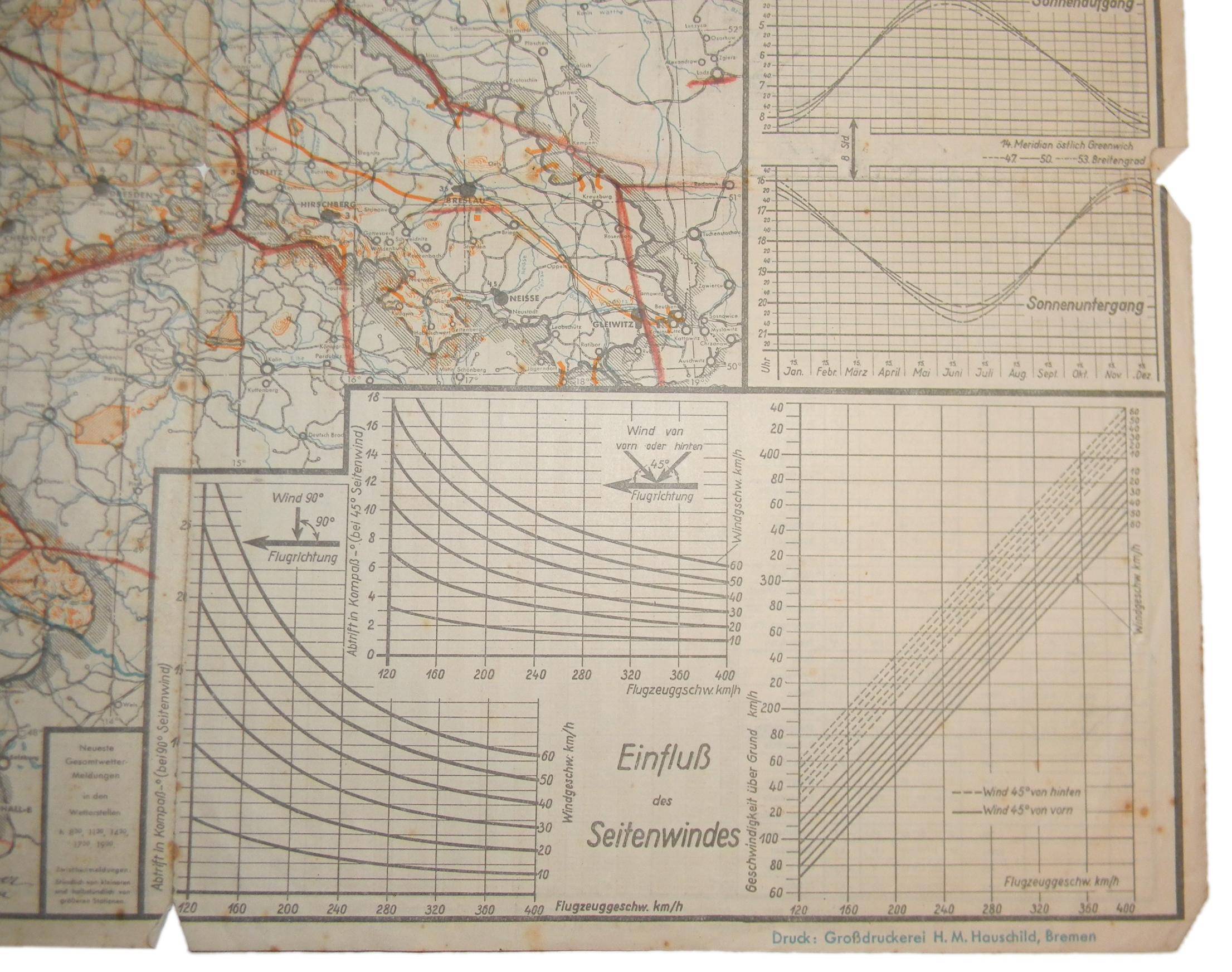 LW Focke-Wulf air chart