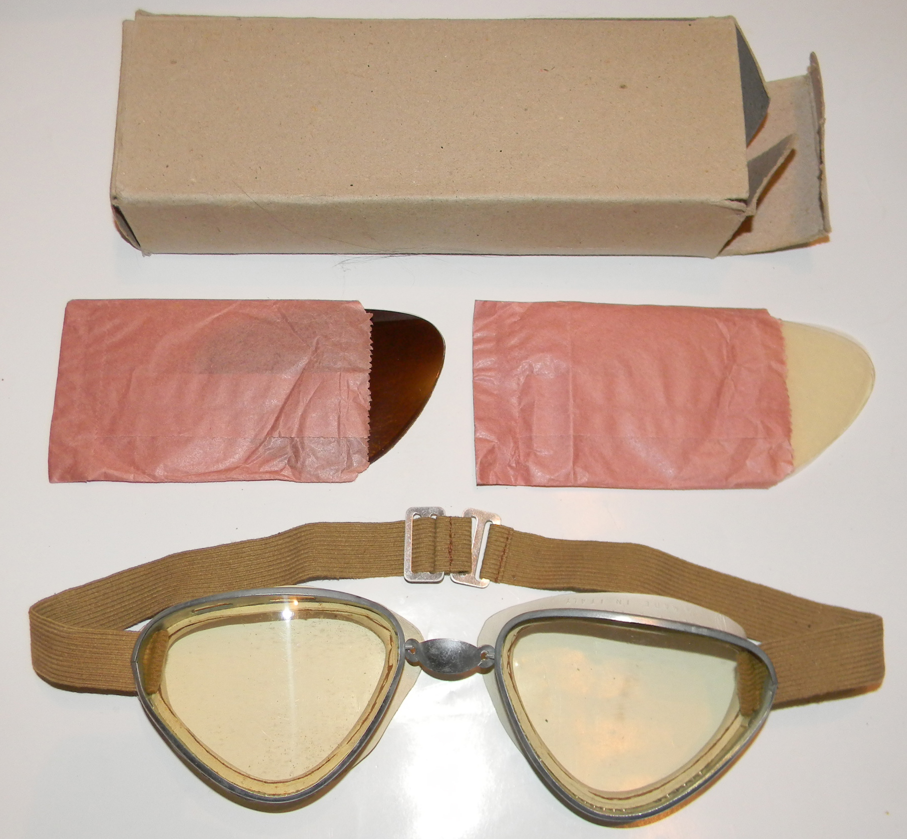 Italian flying goggles