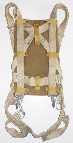 US Navy QAS (Quick Attach Seat) type parachute harness