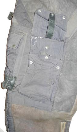 LW Channel Suit Trousers - blue