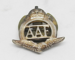 Auxiliary Air Force lapel badge 1