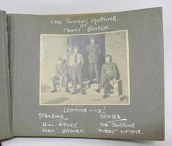 RAF observer training photo album