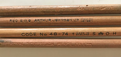 RAF set of 4 navigator's wax pencils for chart marking