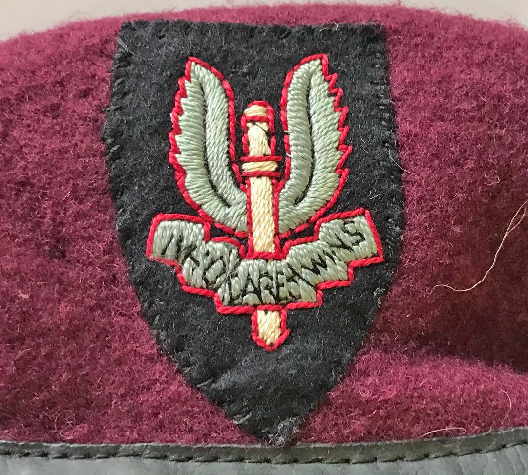 Post War New Zealand Airborne SAS Beret
