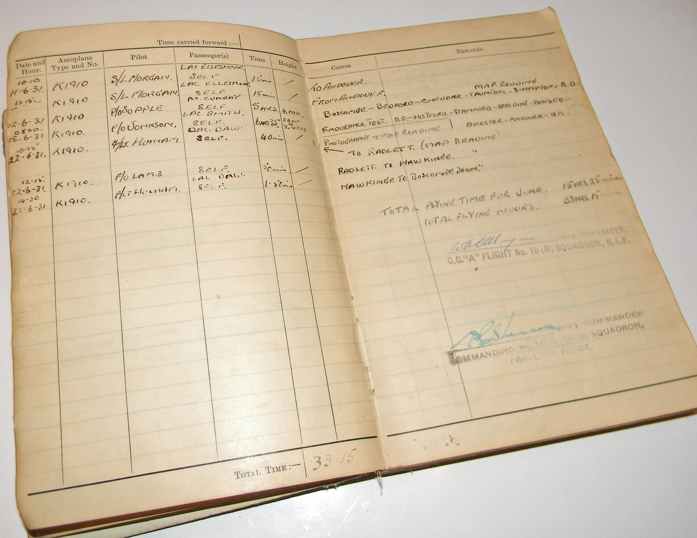 Jones log book 4