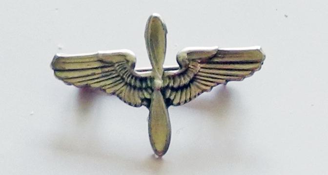 AAF winged prop sweetheart pin