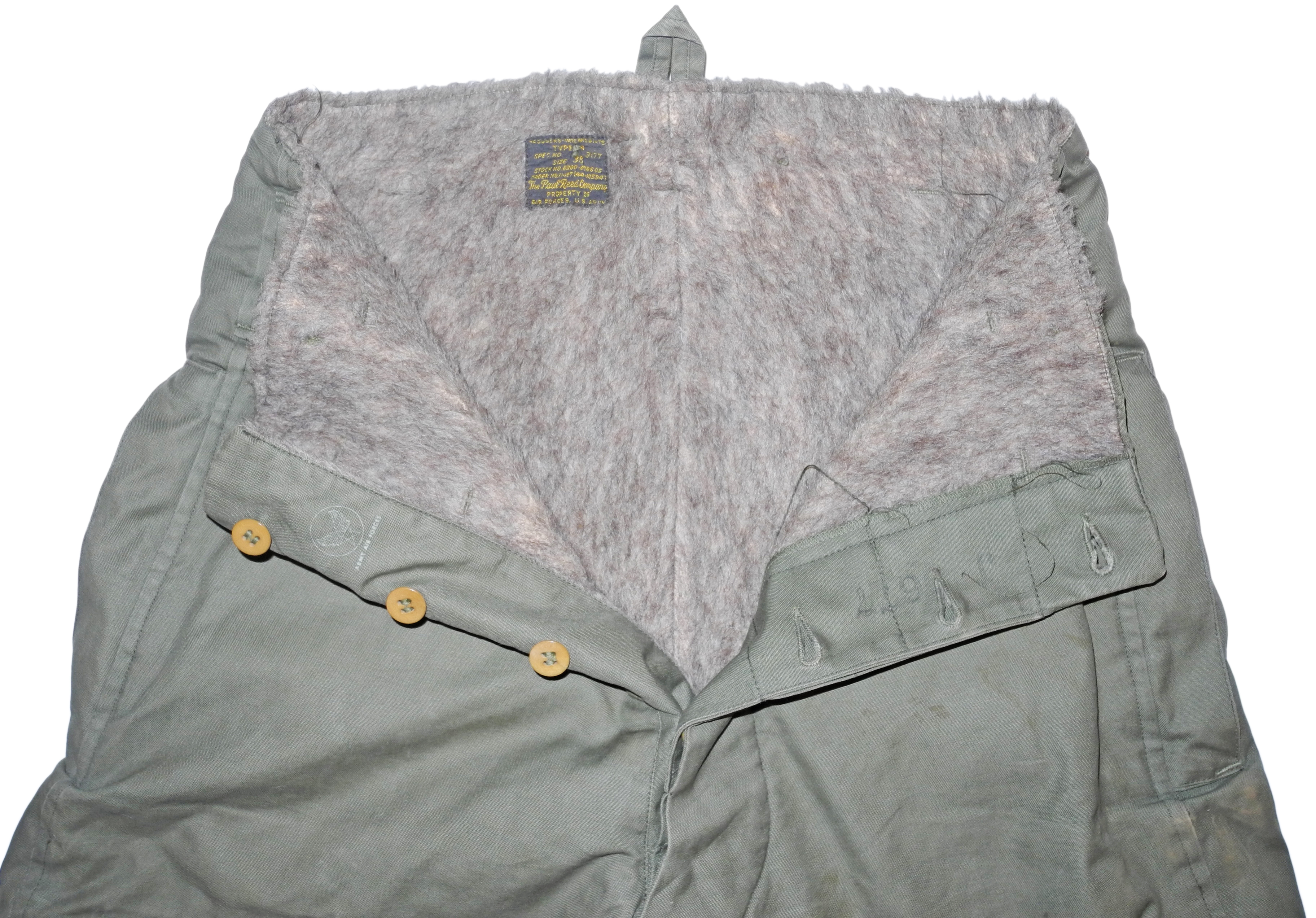 AAF Type A-9 flying suit pants