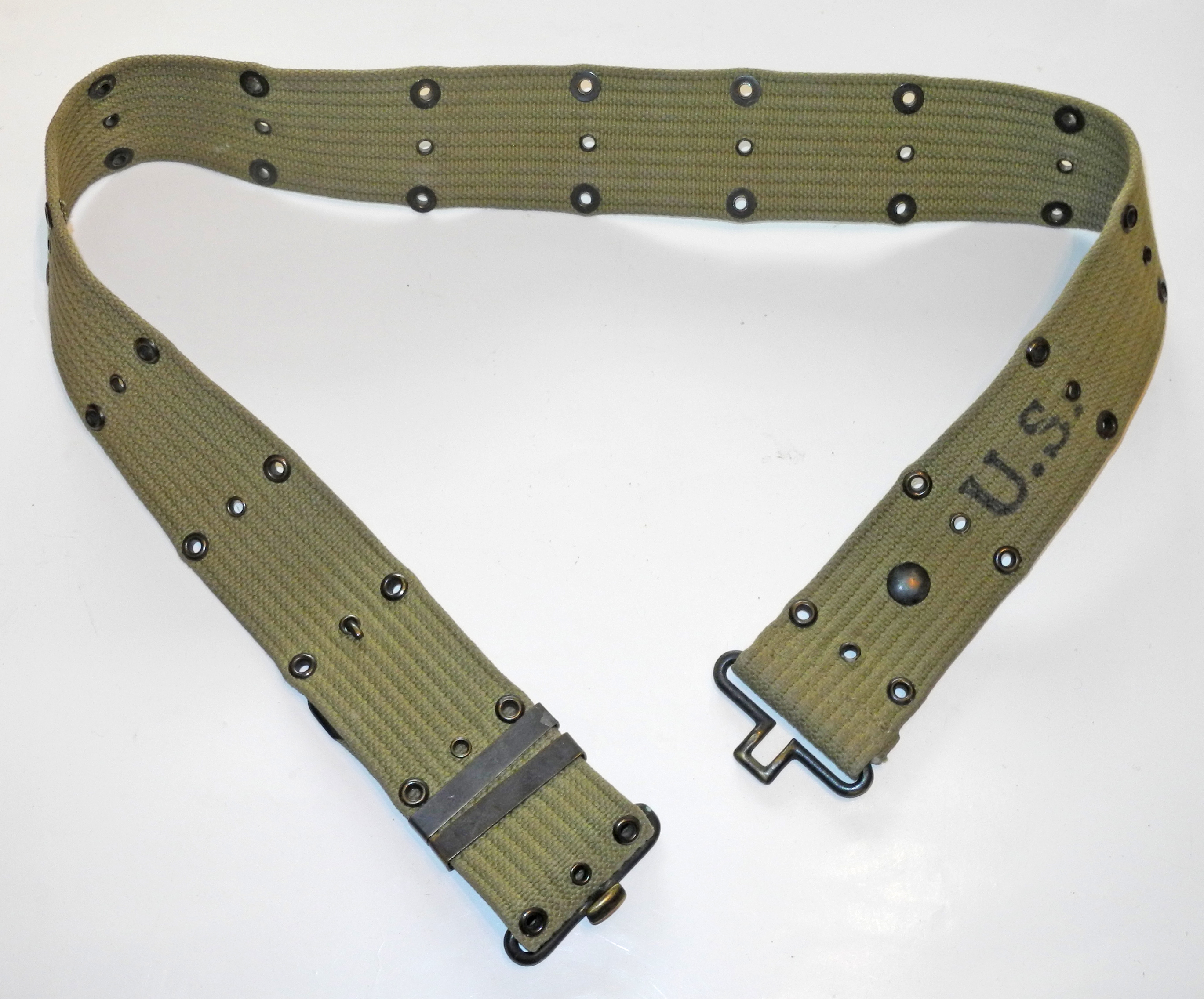 US Army WWII webbing belt