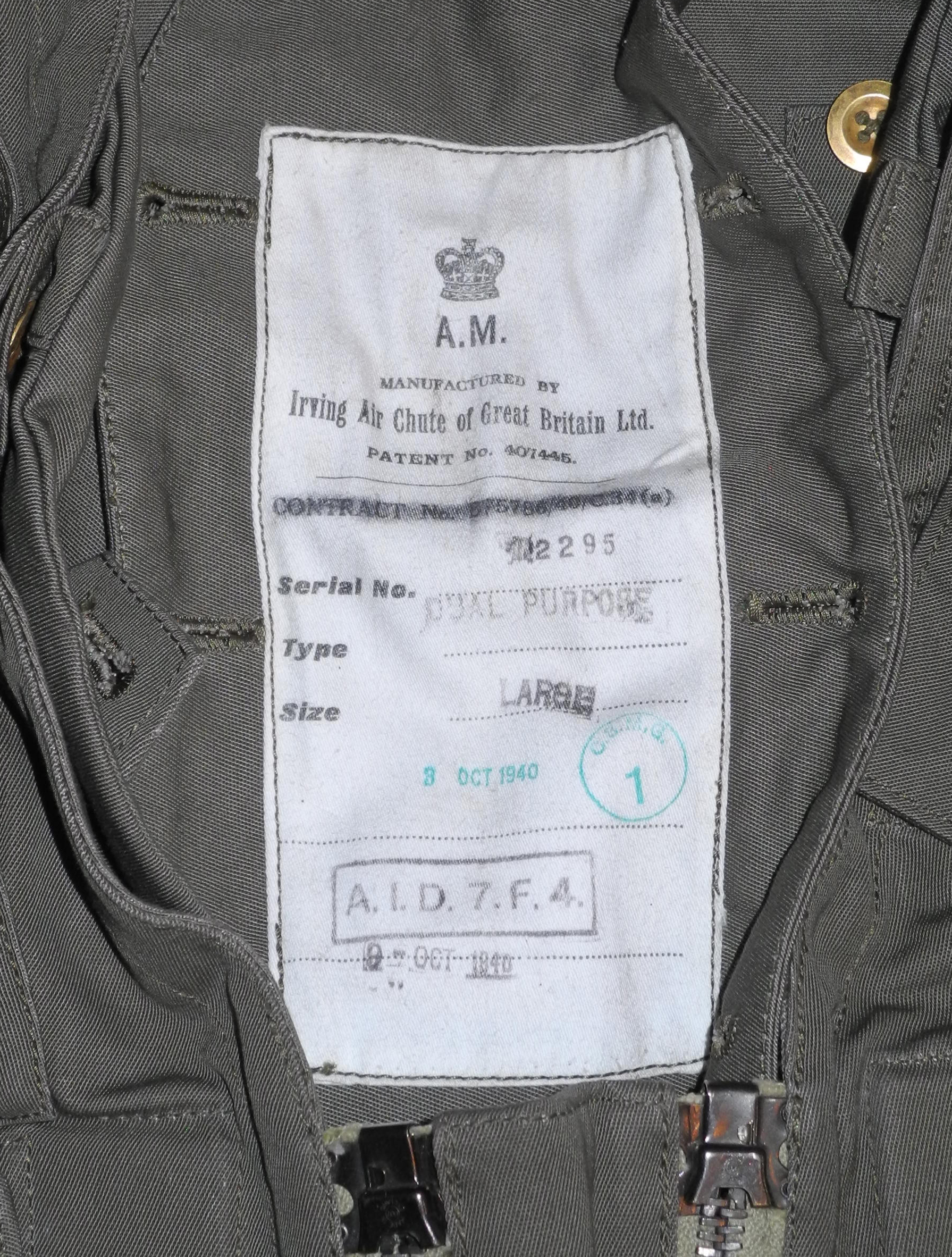 RAF Harnessuit