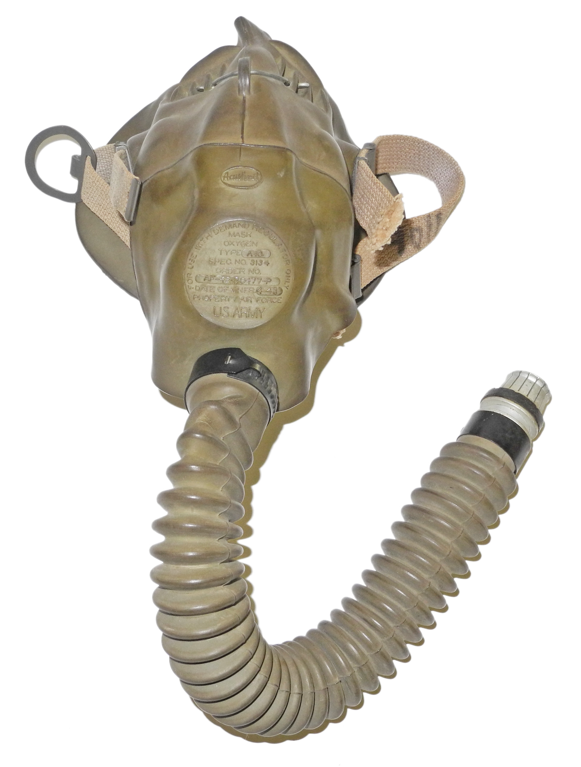 AAF A-10 Modified oxygen mask