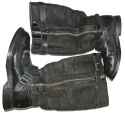 1939 Luftwaffe double-zip boots