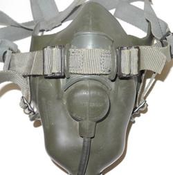 Vietnam era USAF MS22001 pressure breathing oxygen mask