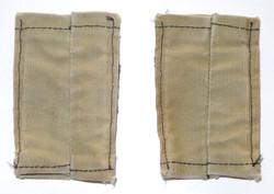 RAF corporals stripes on shoulder slides, rigger made