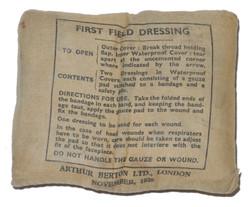 RAF First Field Dressing $20