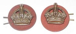 Wartime economy RAF flight sergeant's crowns