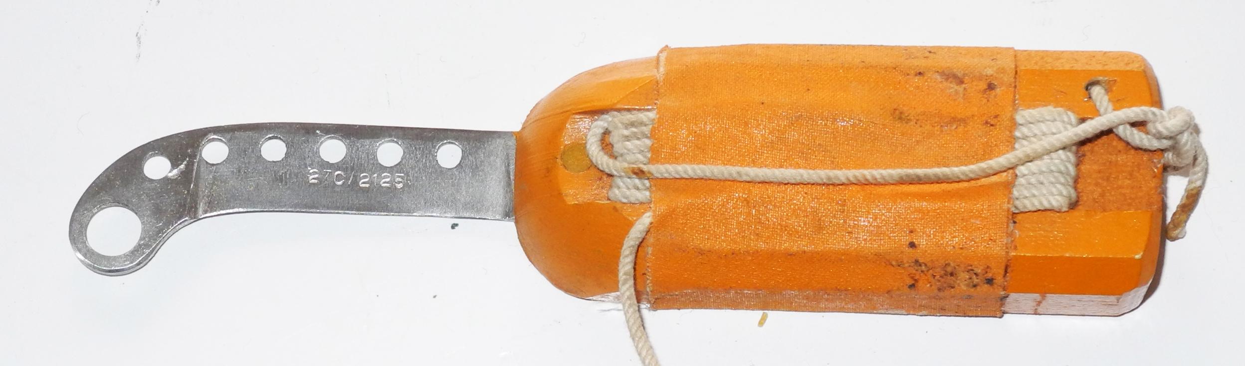 RAF / FAA floating knife for K-Dinghy