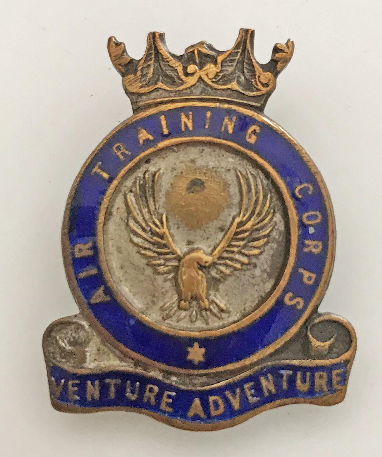WW2 Air Training Corps lapel badge