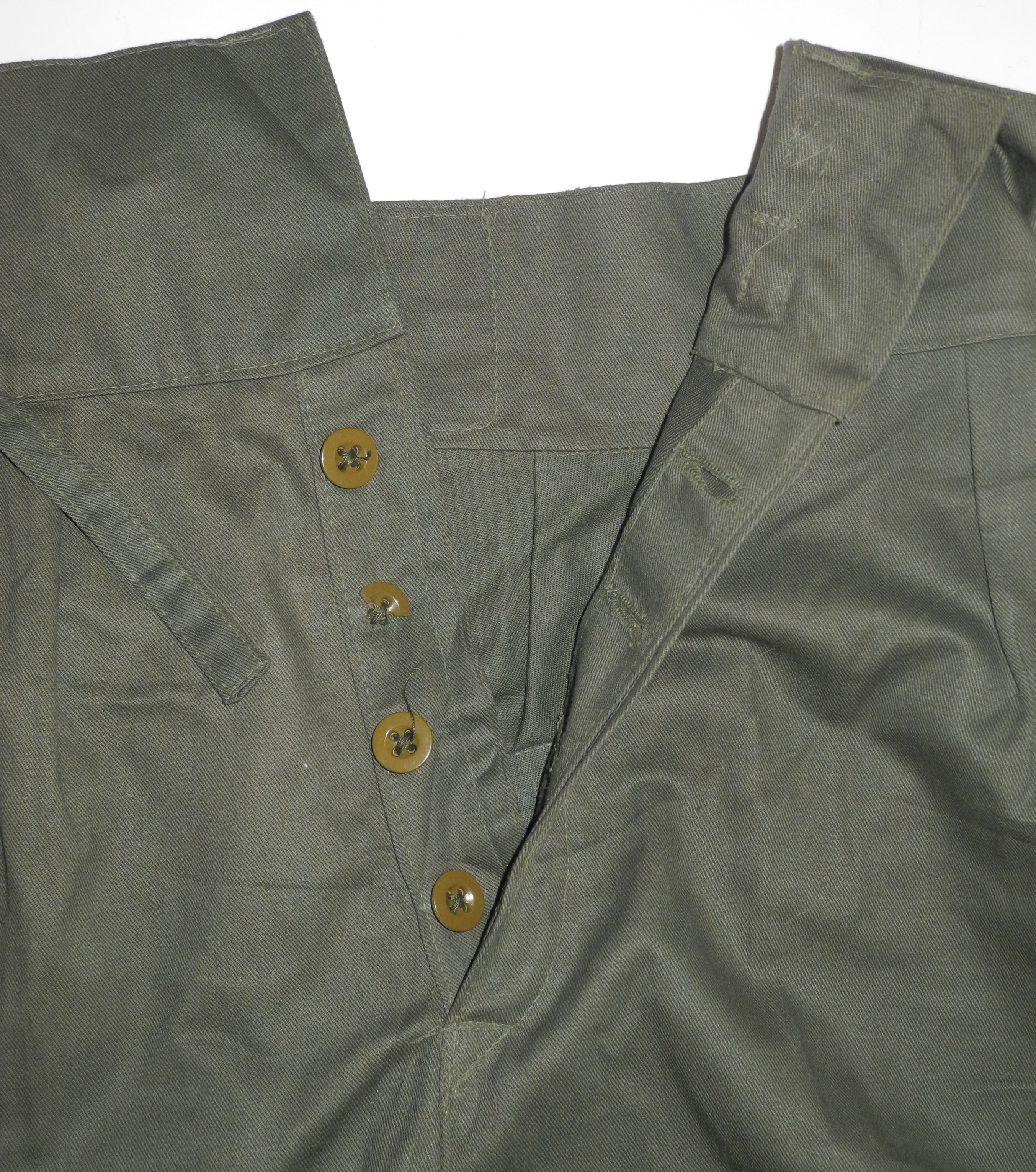 Jungle Green shorts 1944 dated