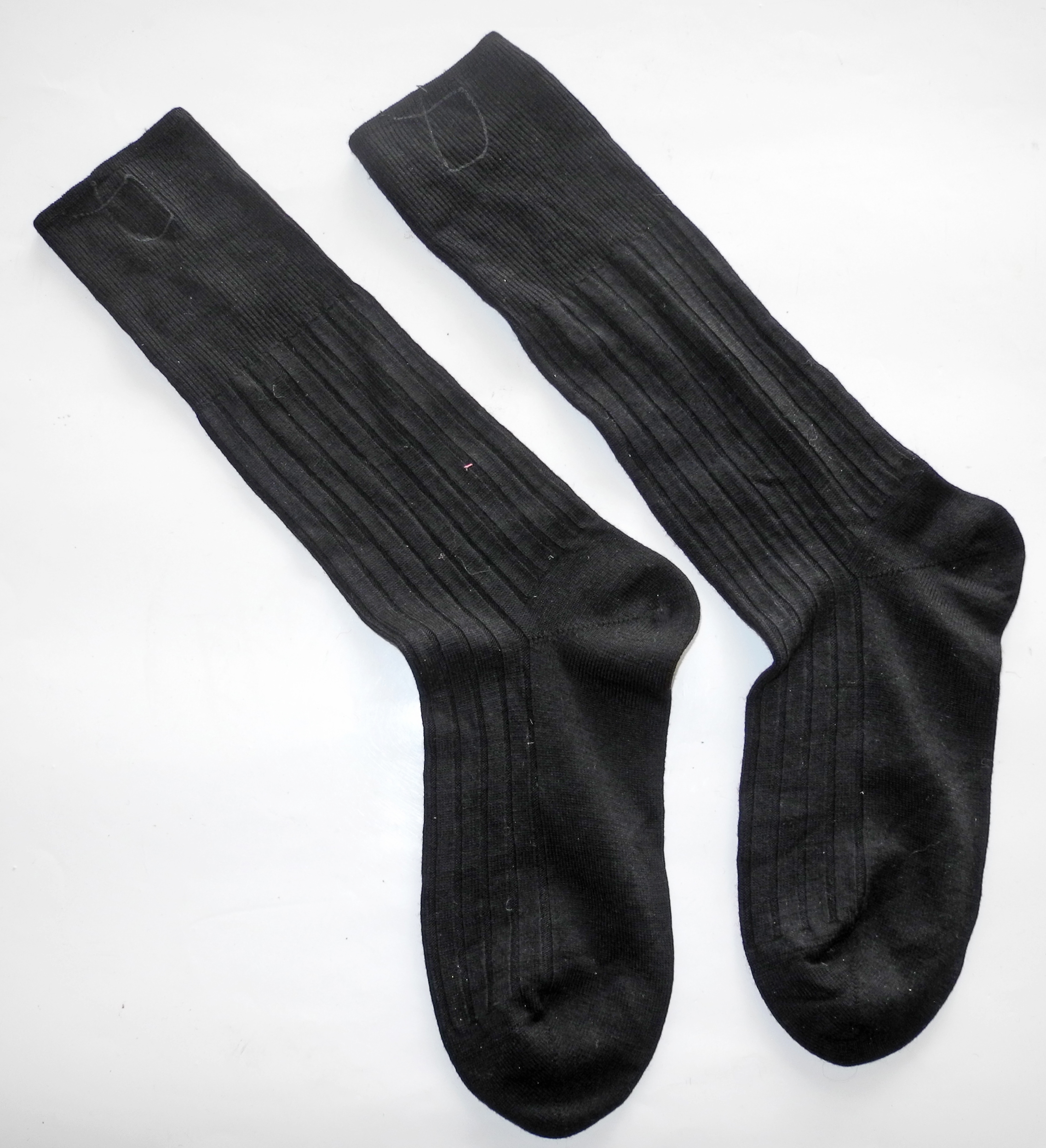 RAF uniform socks dated 1945