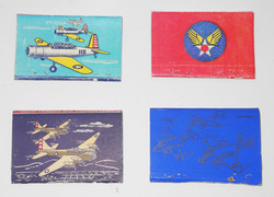 WWII commemorative matchbooks - unused condition