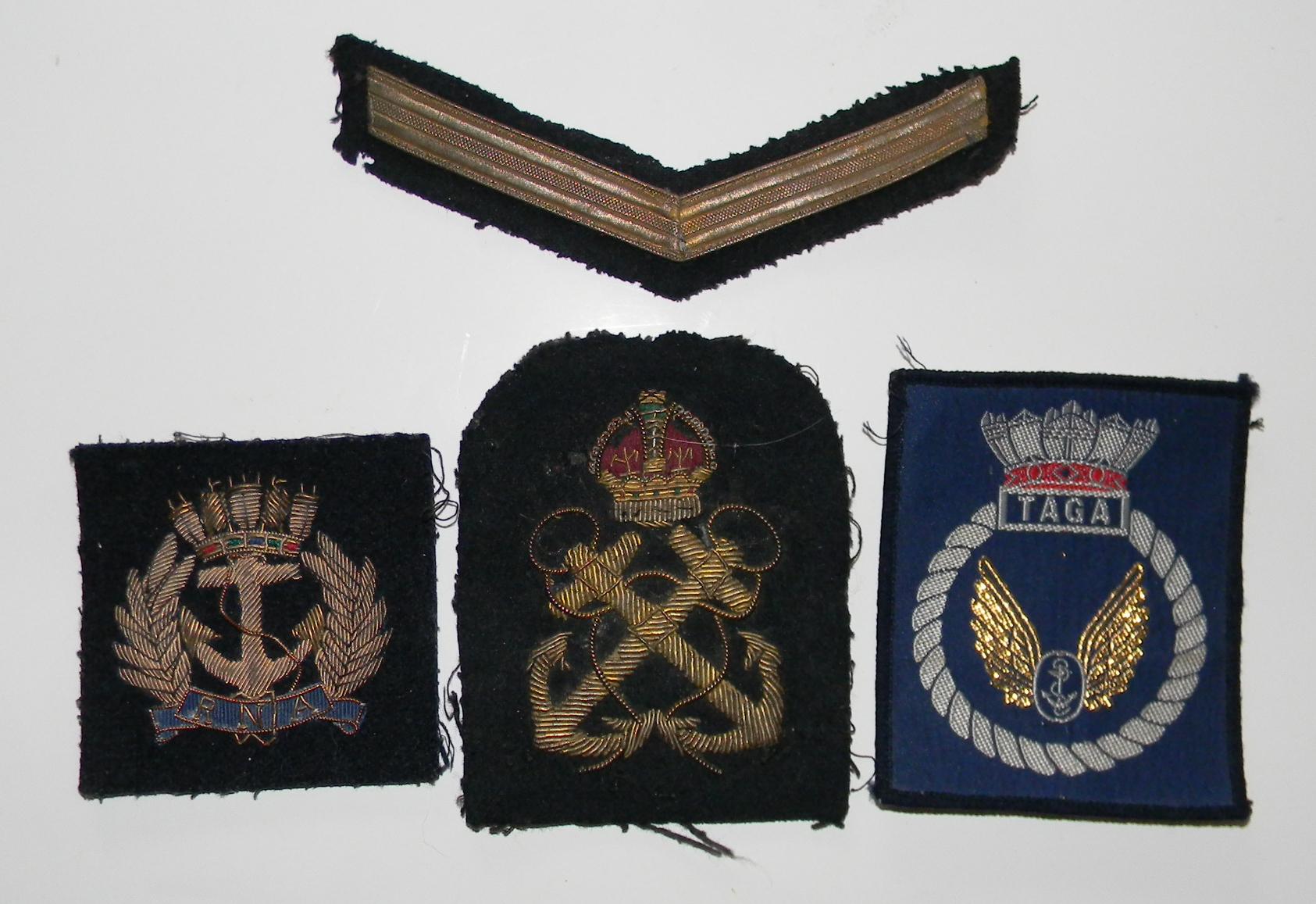 RN FAA log book medal grouping
