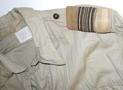 RAAF bush shirt with Squadron Leader rank slip ons