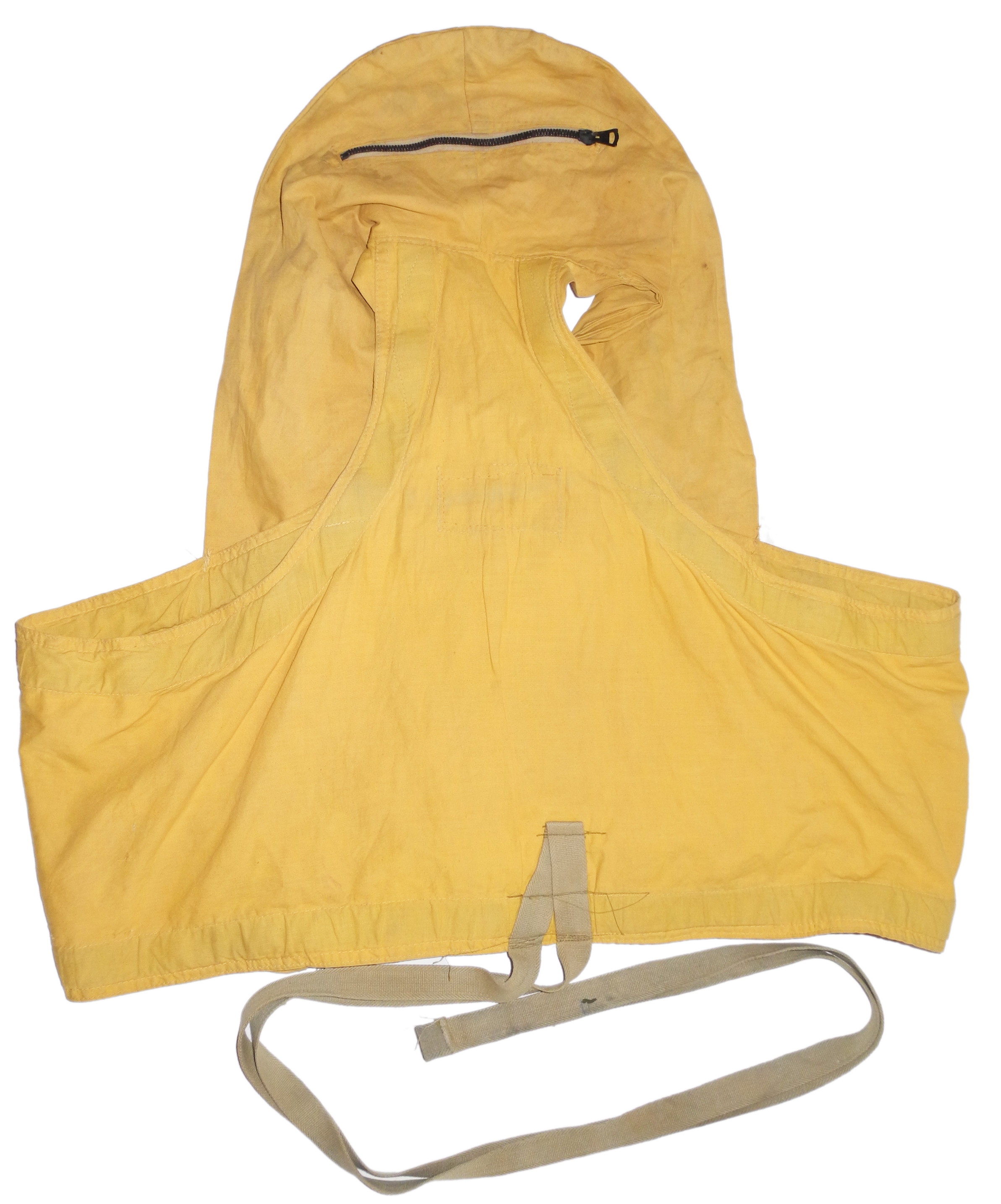 "RAF/RCAF 1932 pattern ""Mae West"" life jacket in yellow"