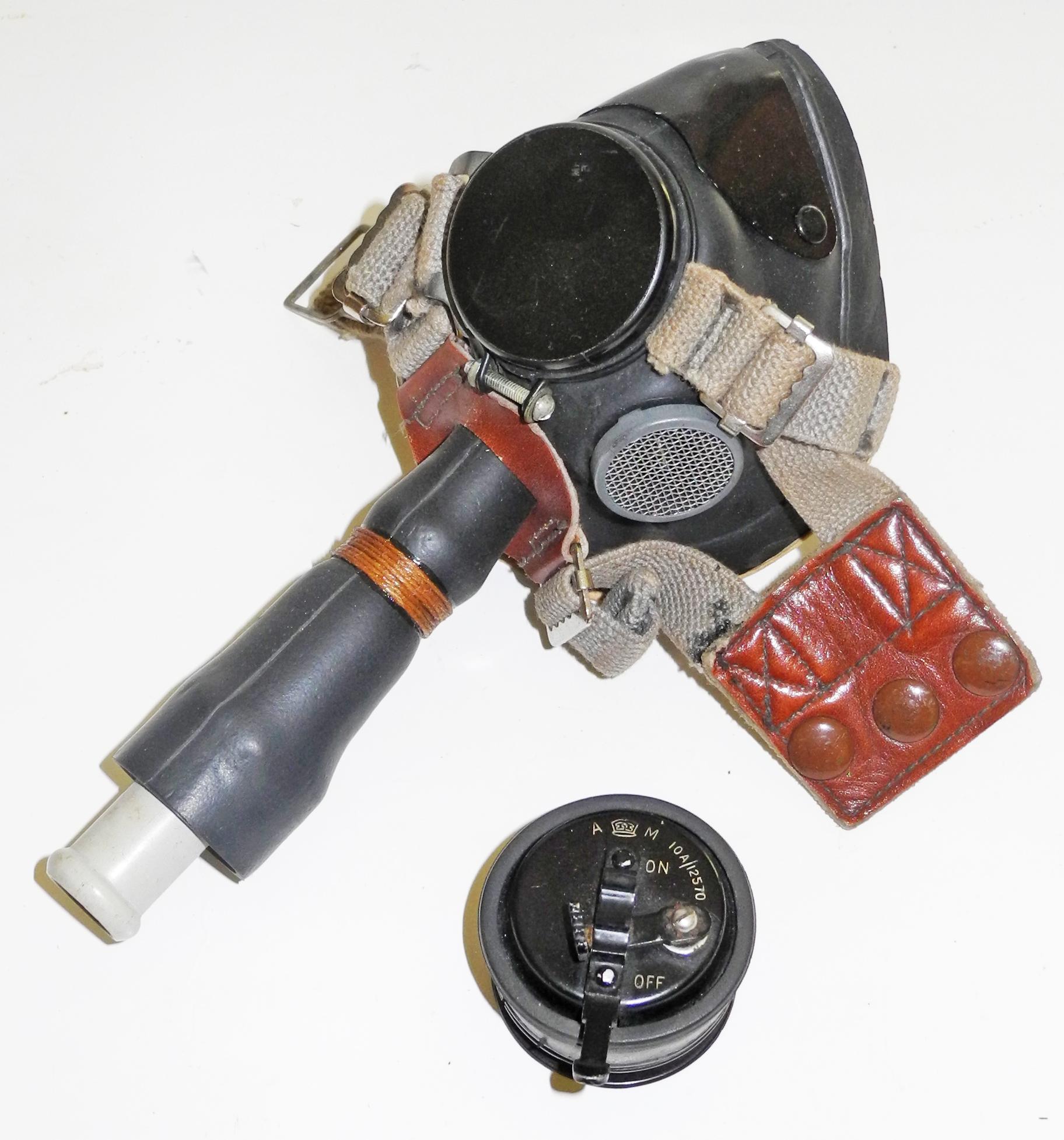 RAF E* mask (Sefton) + microphone