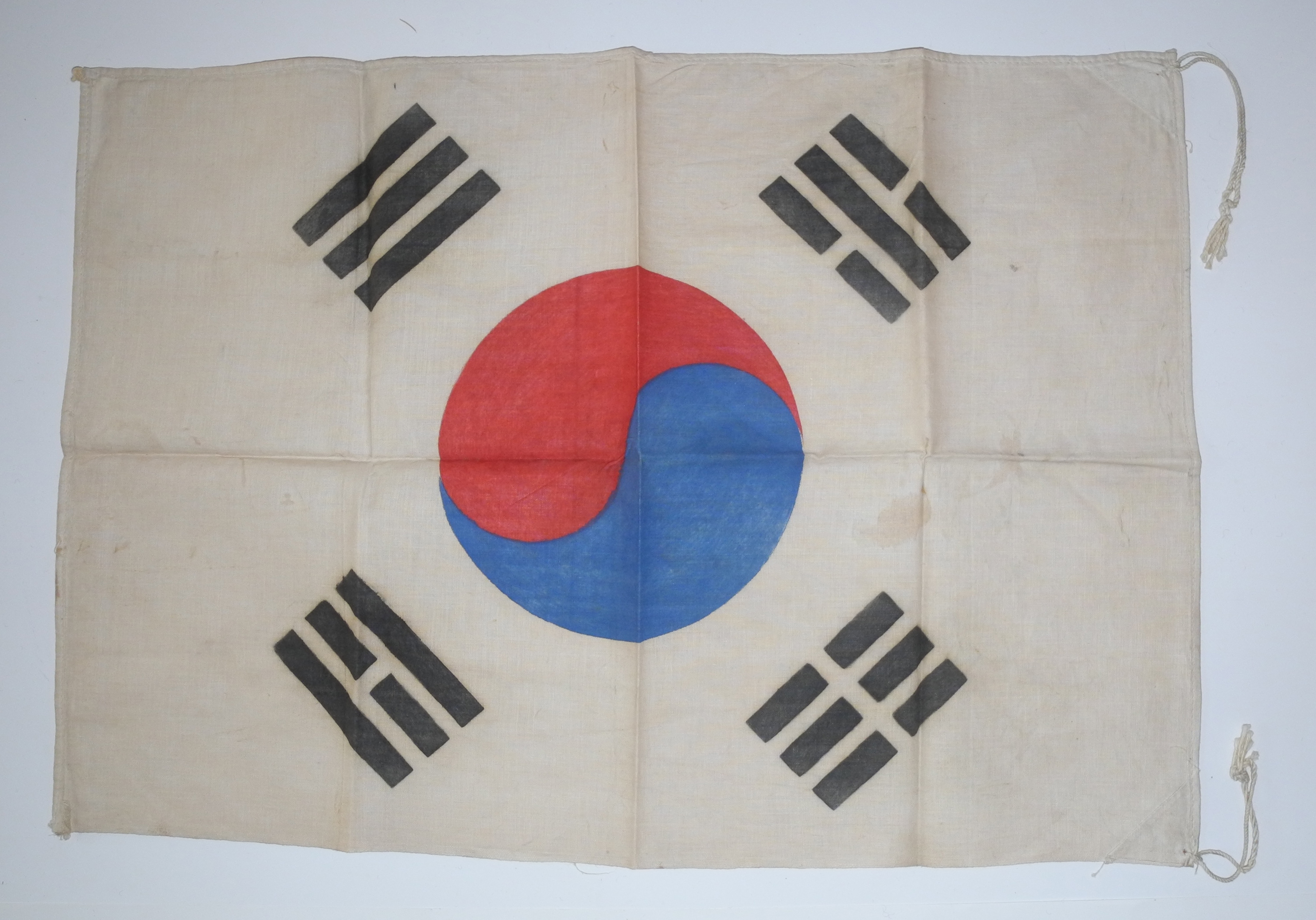 Korean War era South Korea flag
