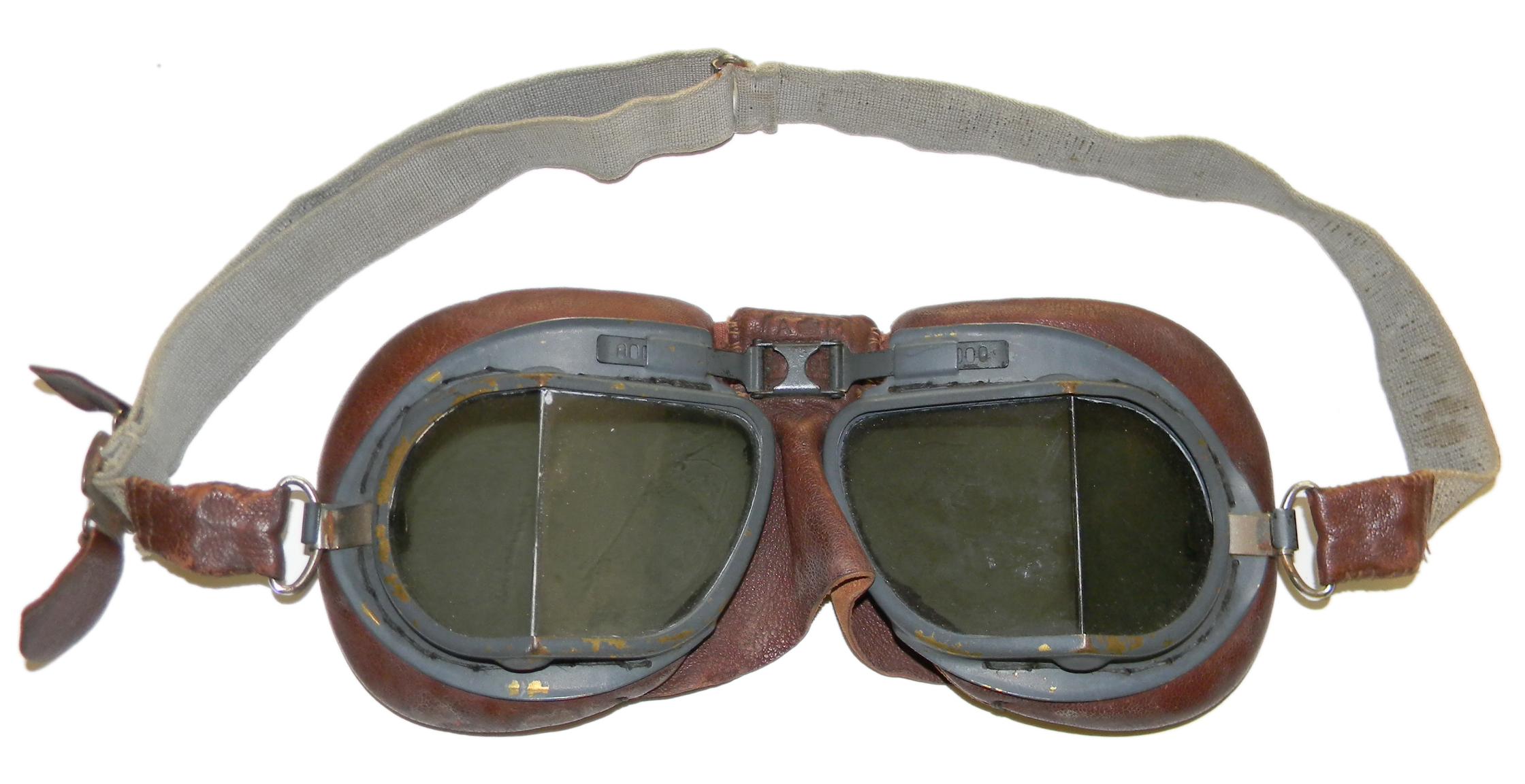 3df29c458a WWII issue RAF Mk VIII goggles