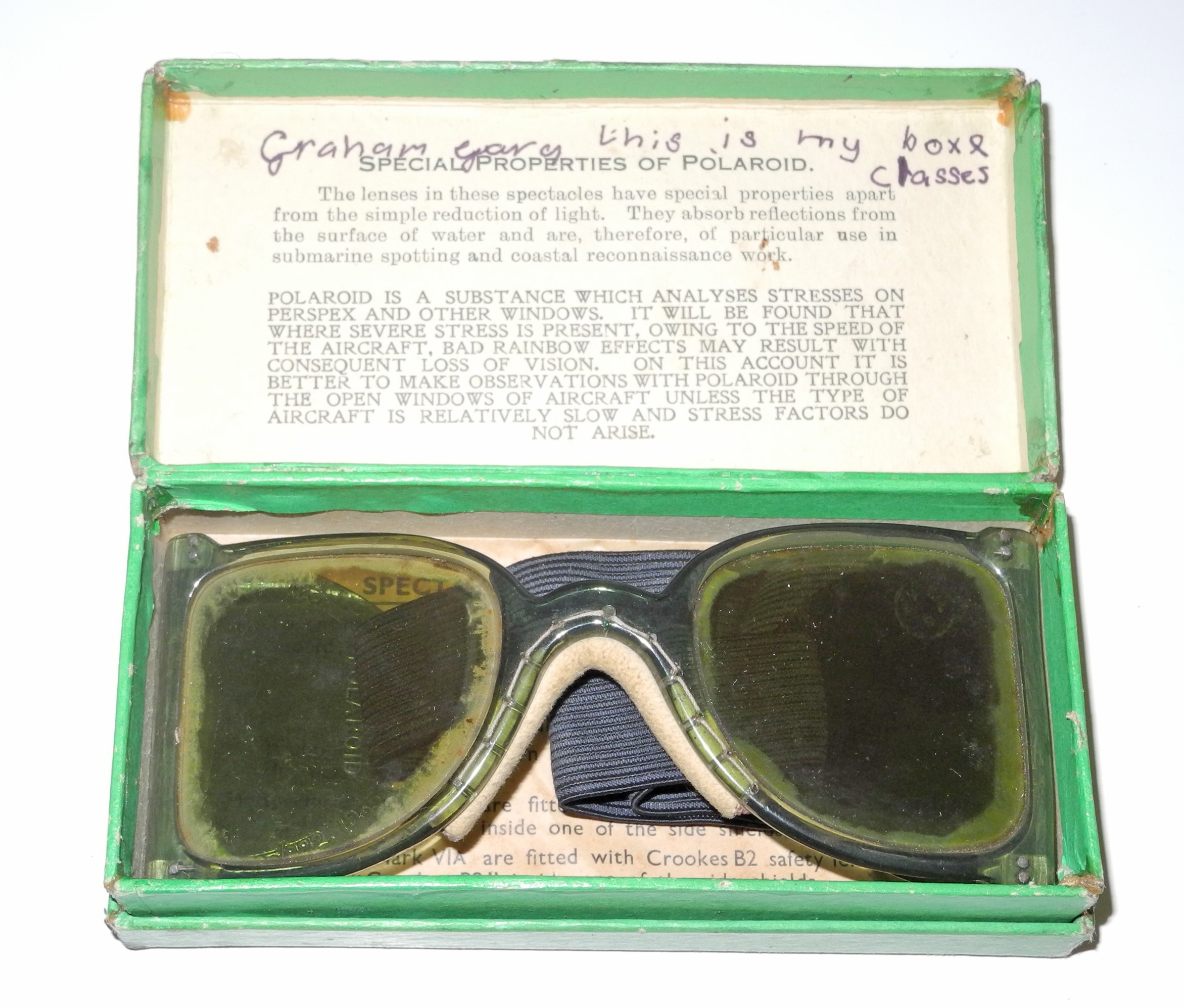 RAF Mk VI anti-glare spectacles5
