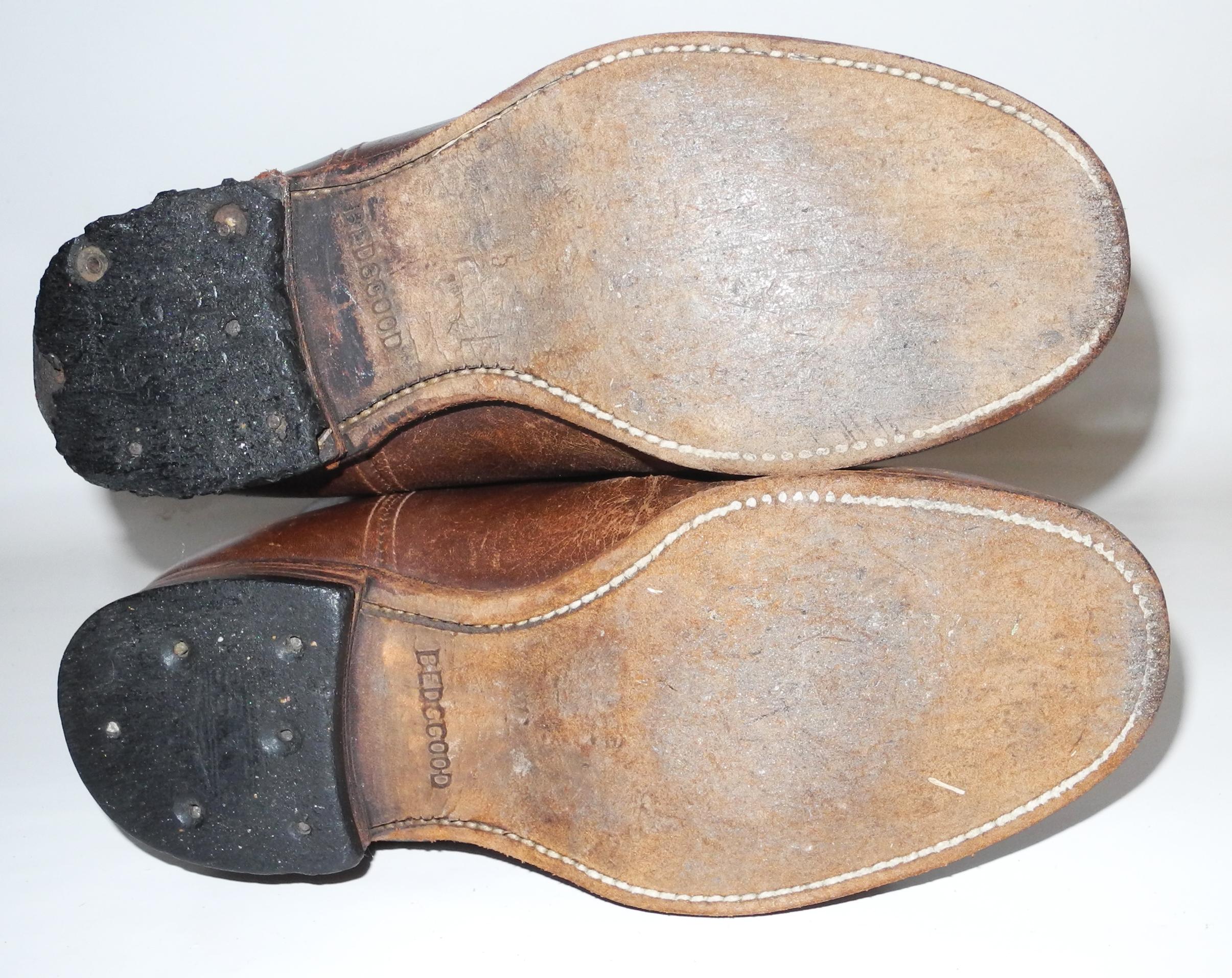 RAAF 1936 pattern Boots in brown leather by BedggoodDSCN9578