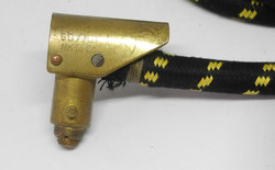 RAF D mask hose and connector