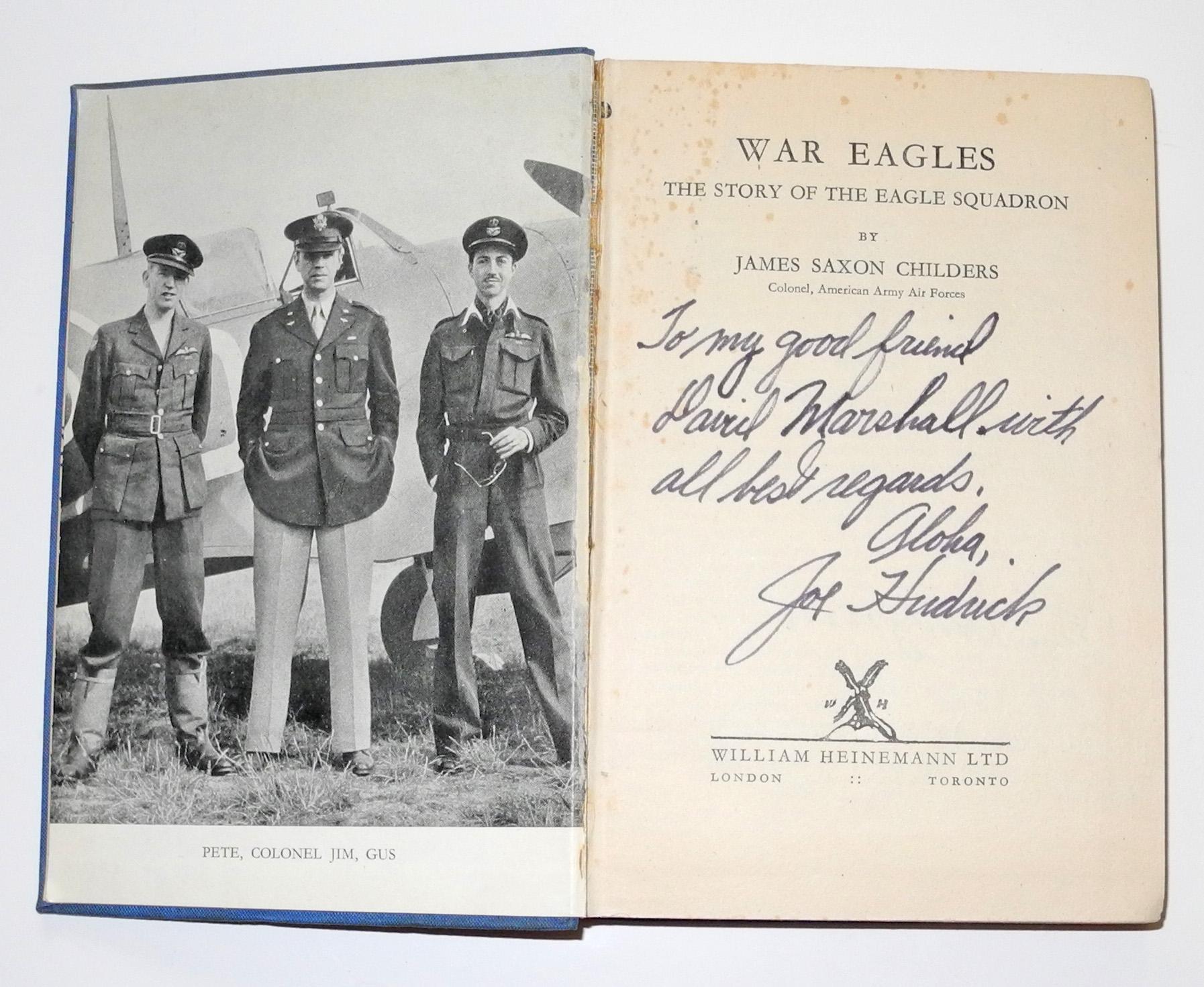 War Eagles ES book signed