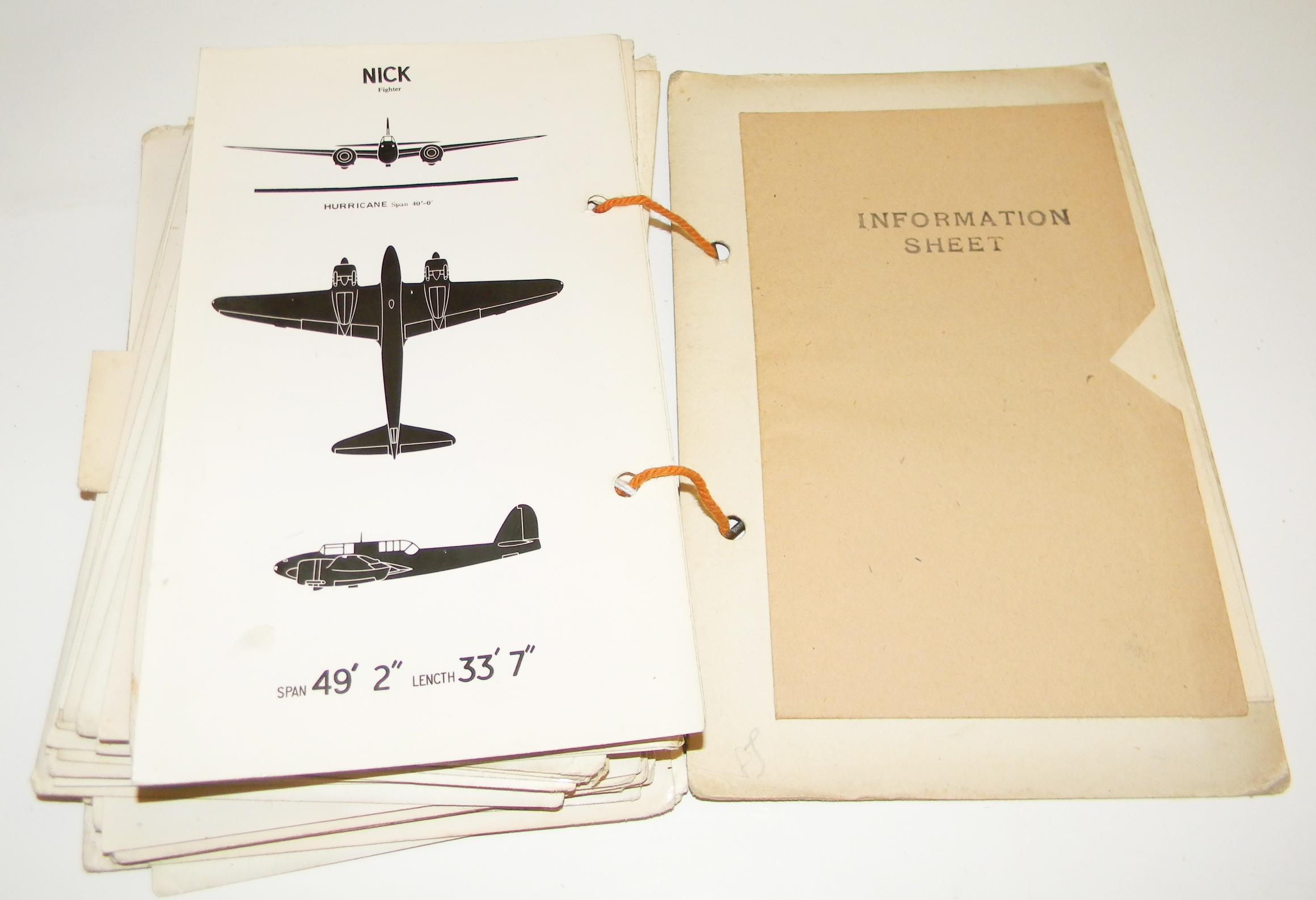 RAF Japanese aircraft rec. manual